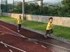 草場跑跑步